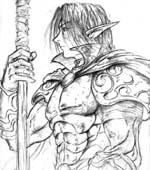 Portrait de chevalier cain